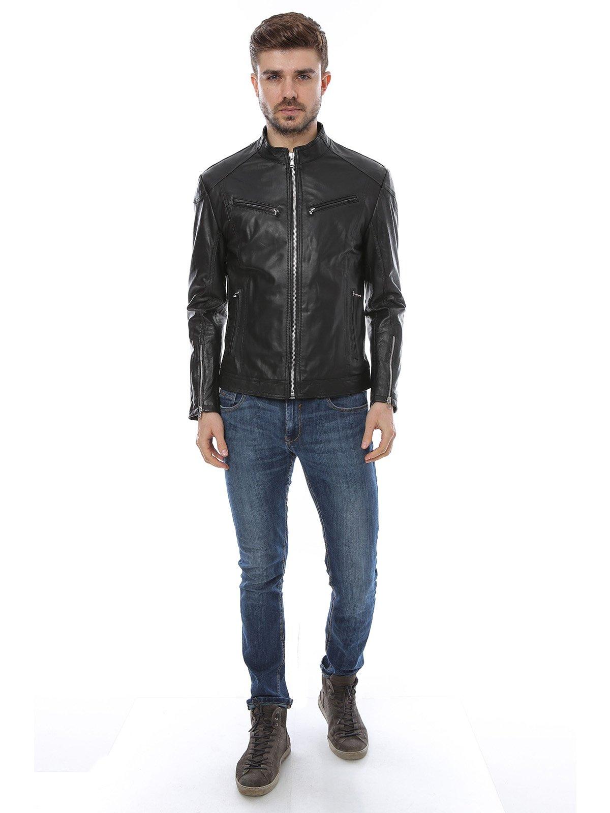 Куртка черная | 1315316 | фото 4