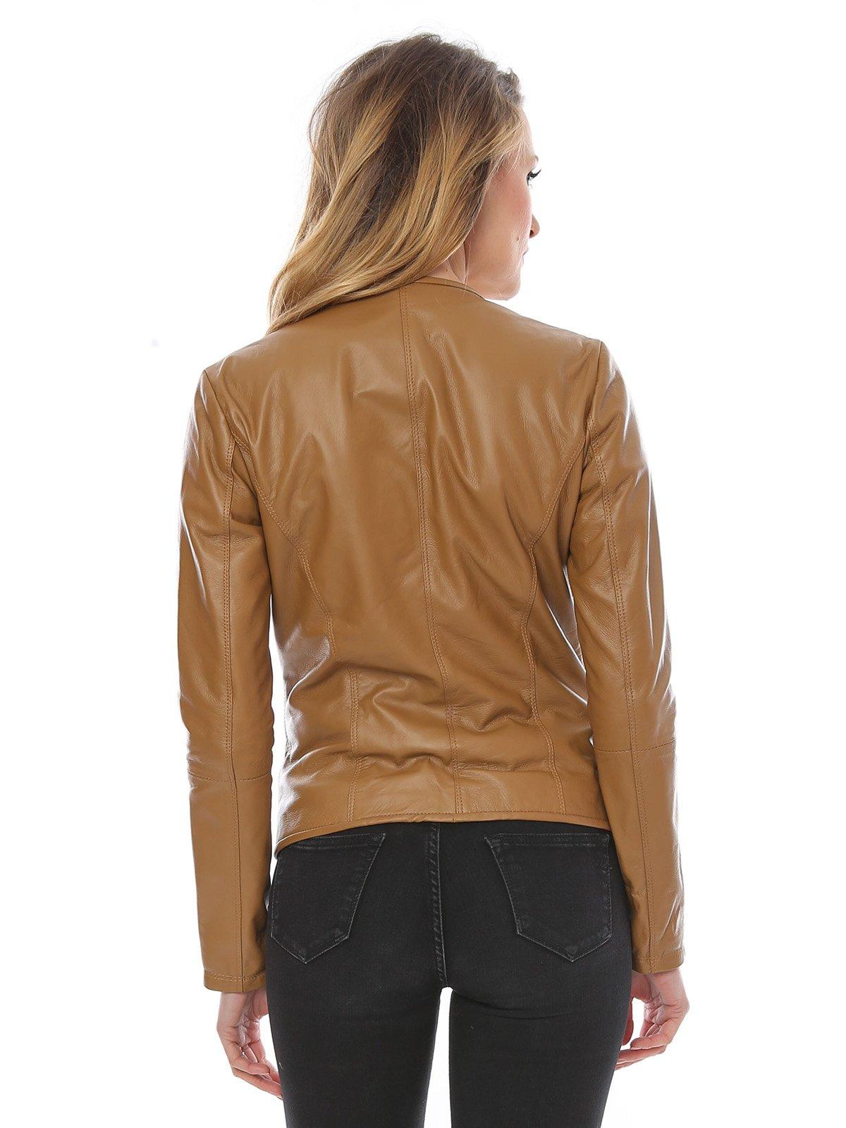 Куртка цвета коньяка | 1879179 | фото 2