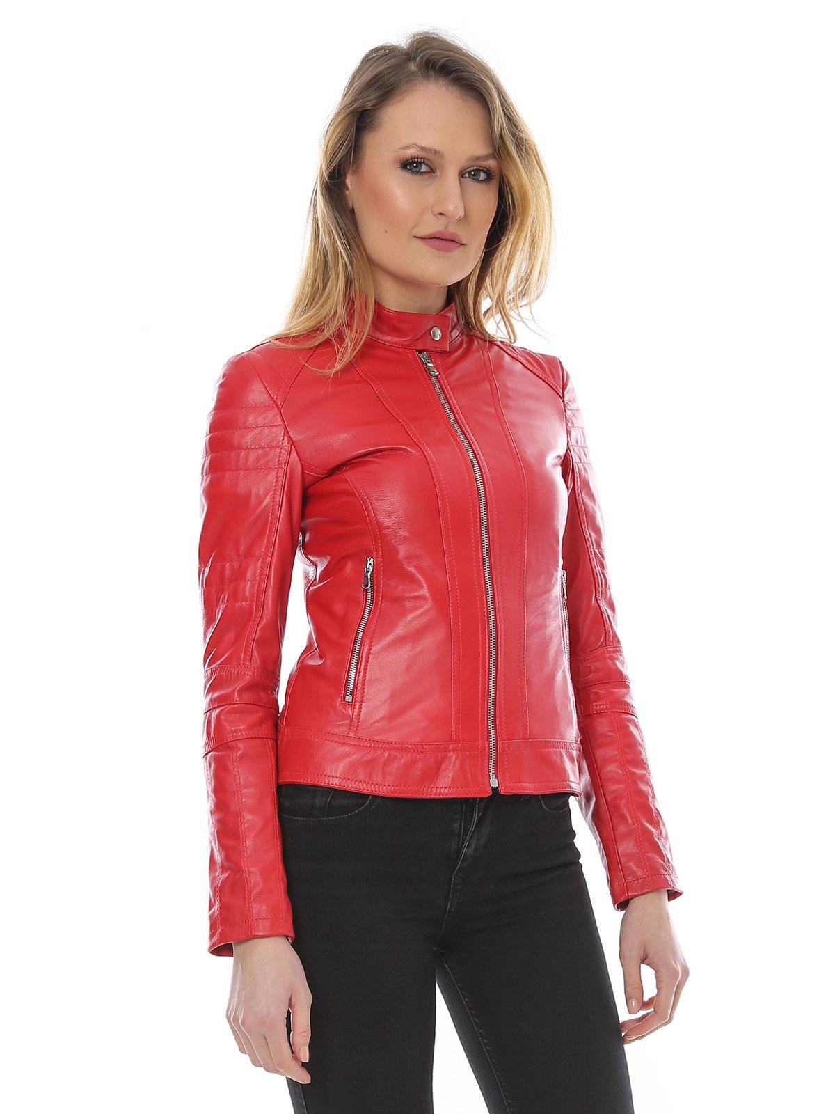 Куртка красная | 2646062 | фото 3