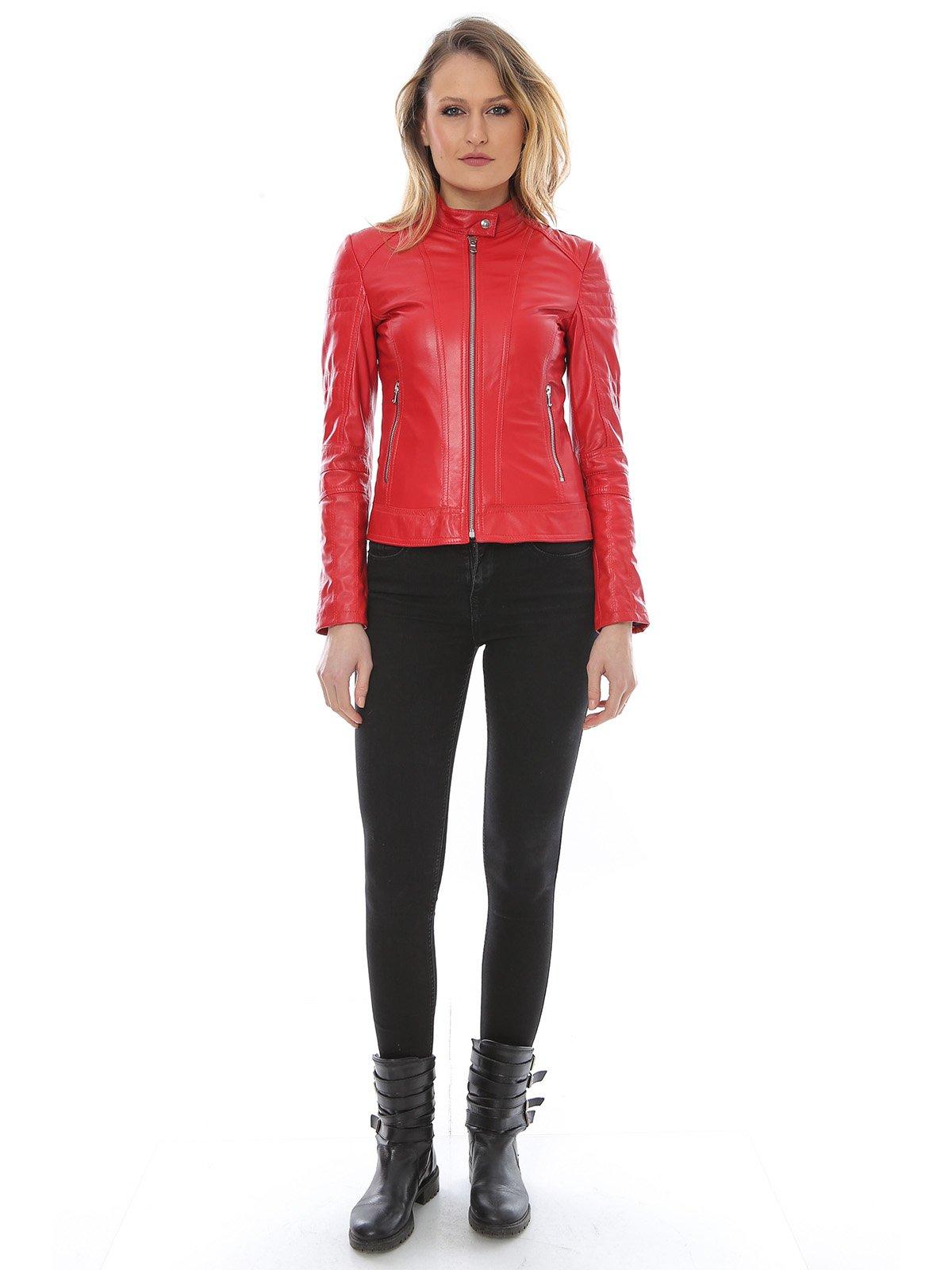 Куртка красная | 2646062 | фото 4