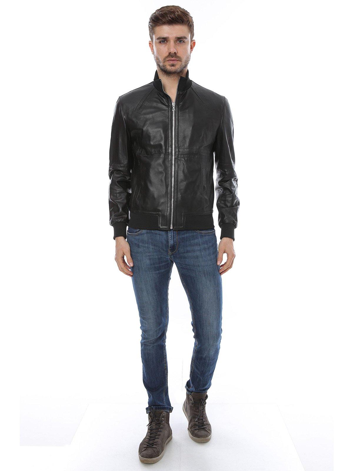 Куртка черная | 2646184 | фото 4