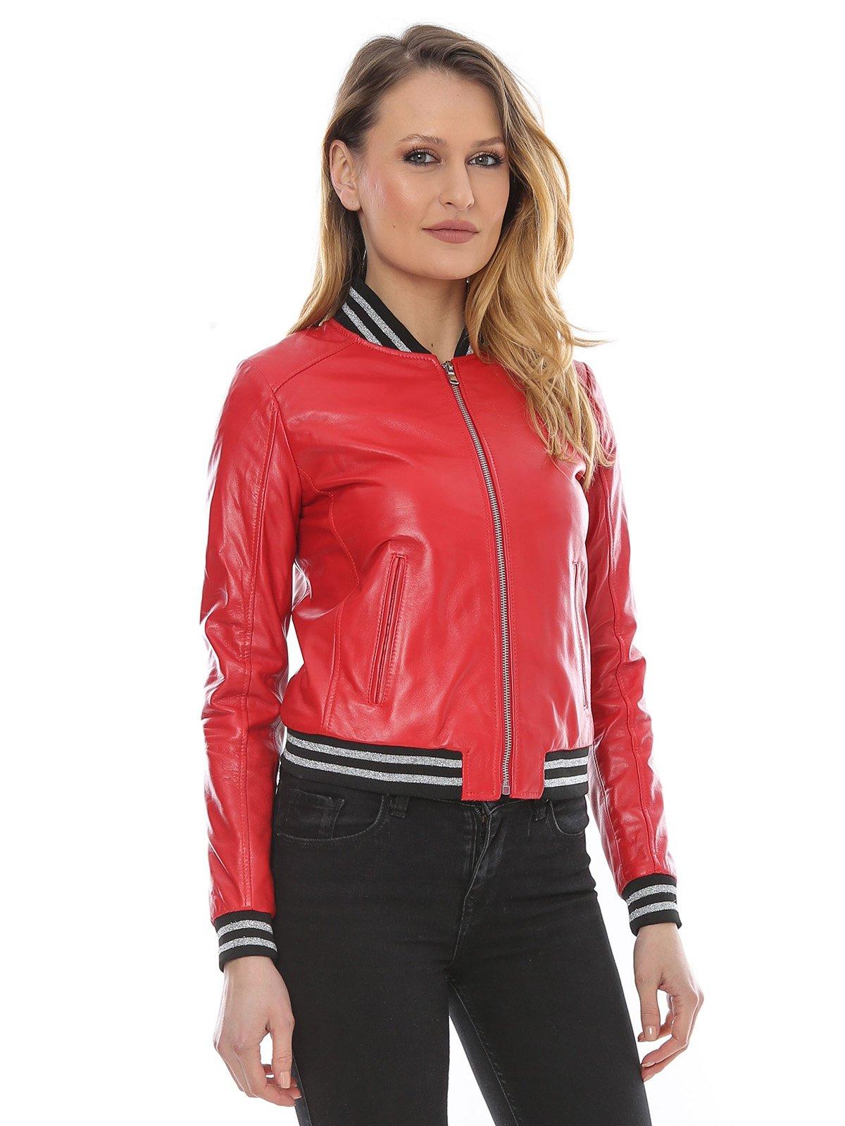 Куртка красная | 3010531 | фото 3