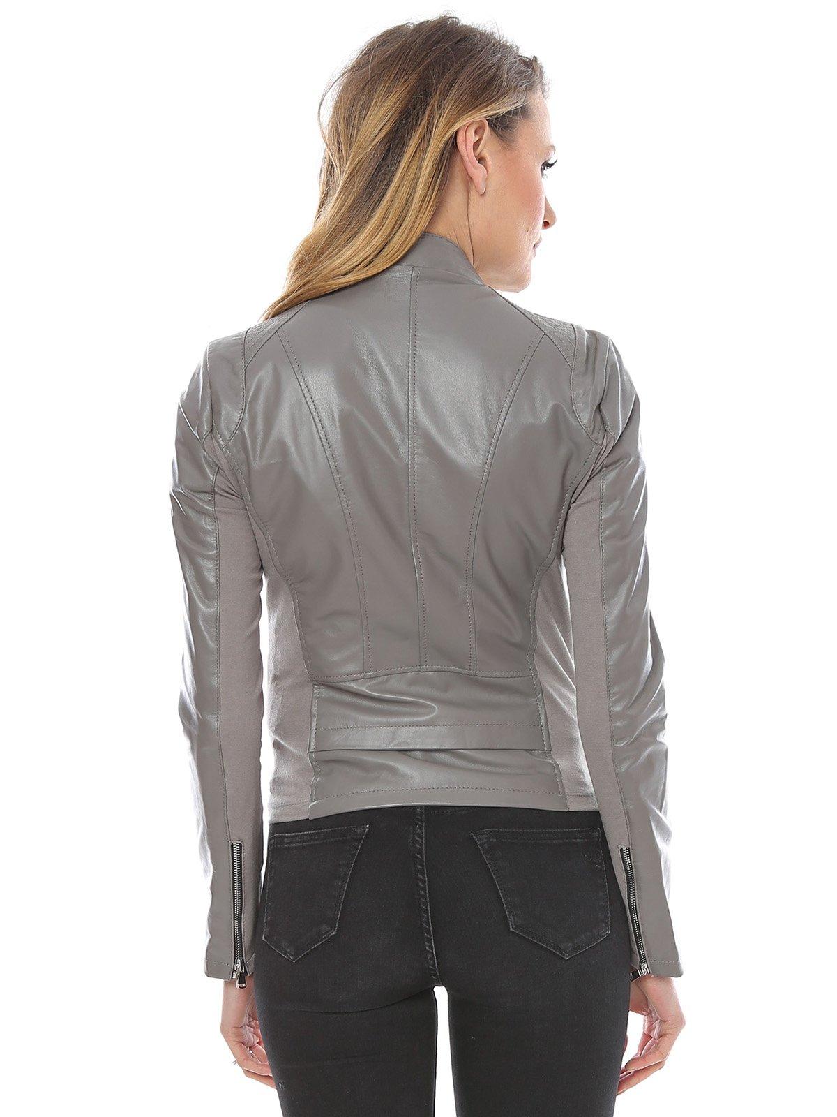 Куртка серая | 3010743 | фото 2