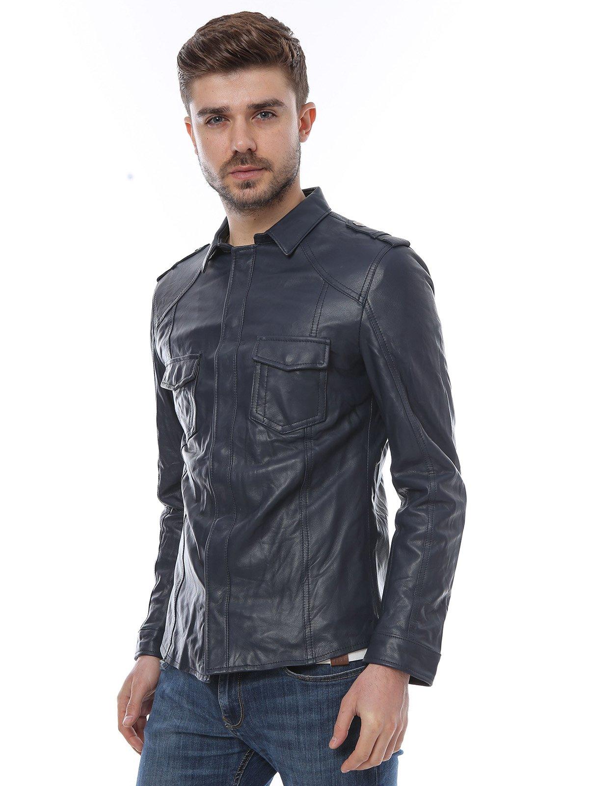 Куртка темно-синяя | 3010785 | фото 3