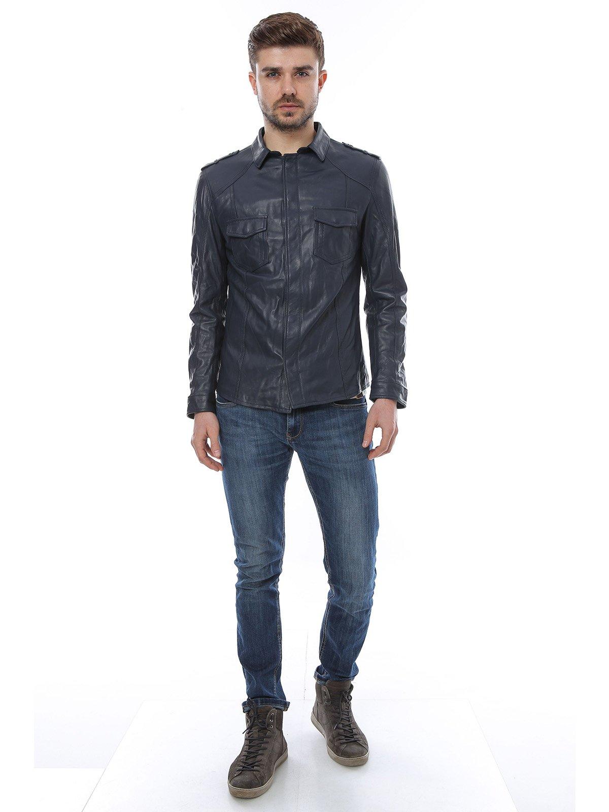 Куртка темно-синяя | 3010785 | фото 4