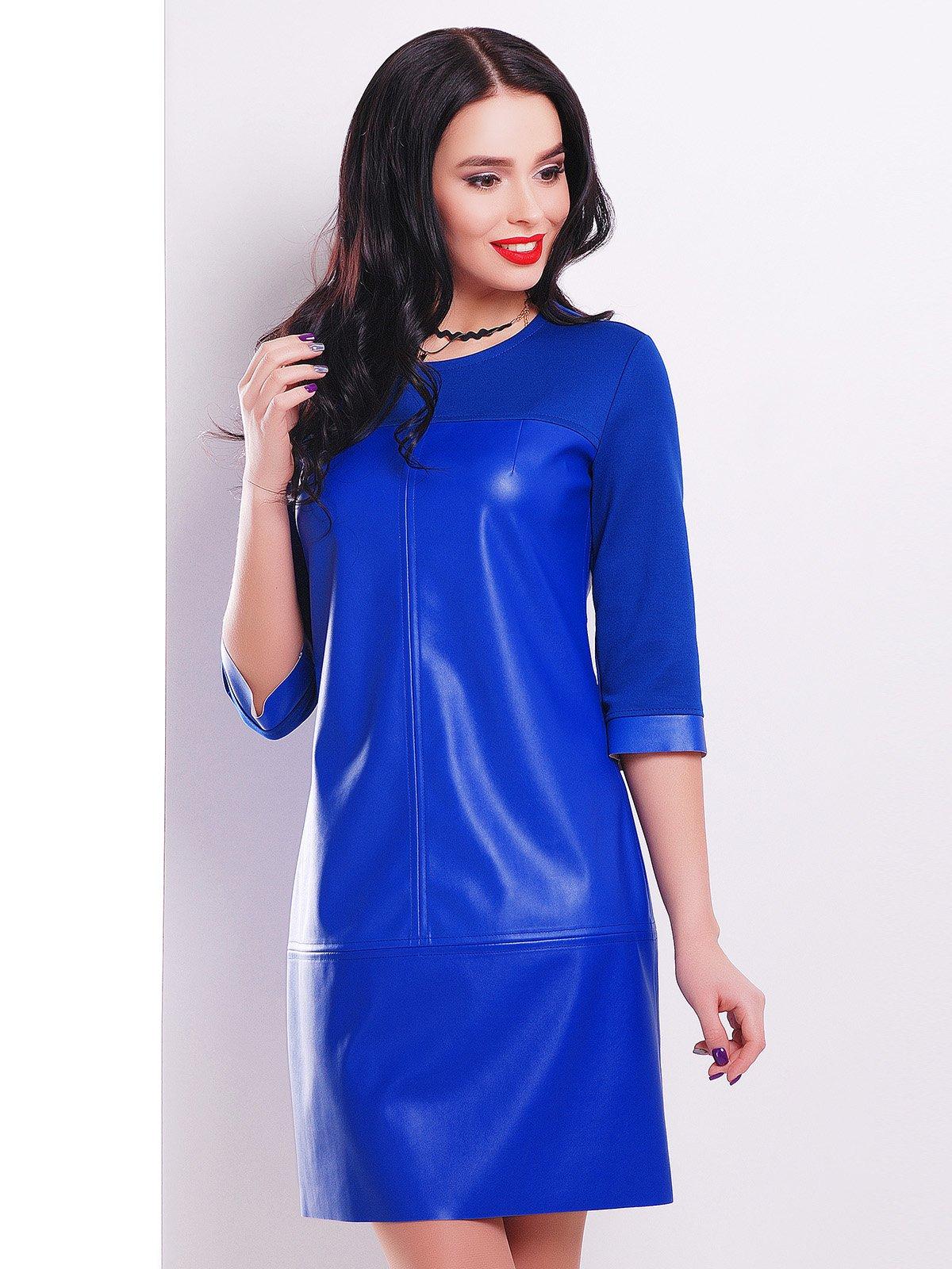 Сукня кольору електрик | 3084001