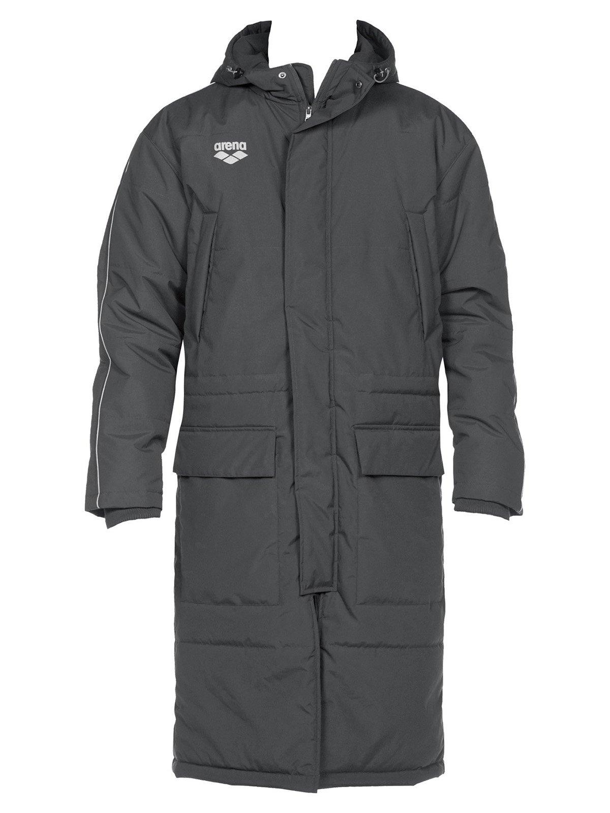 Куртка кольору асфальту | 3084134