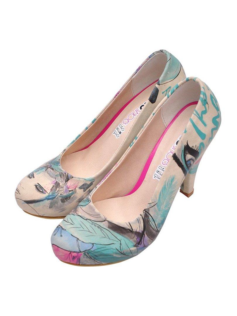 Туфли в принт | 3081072