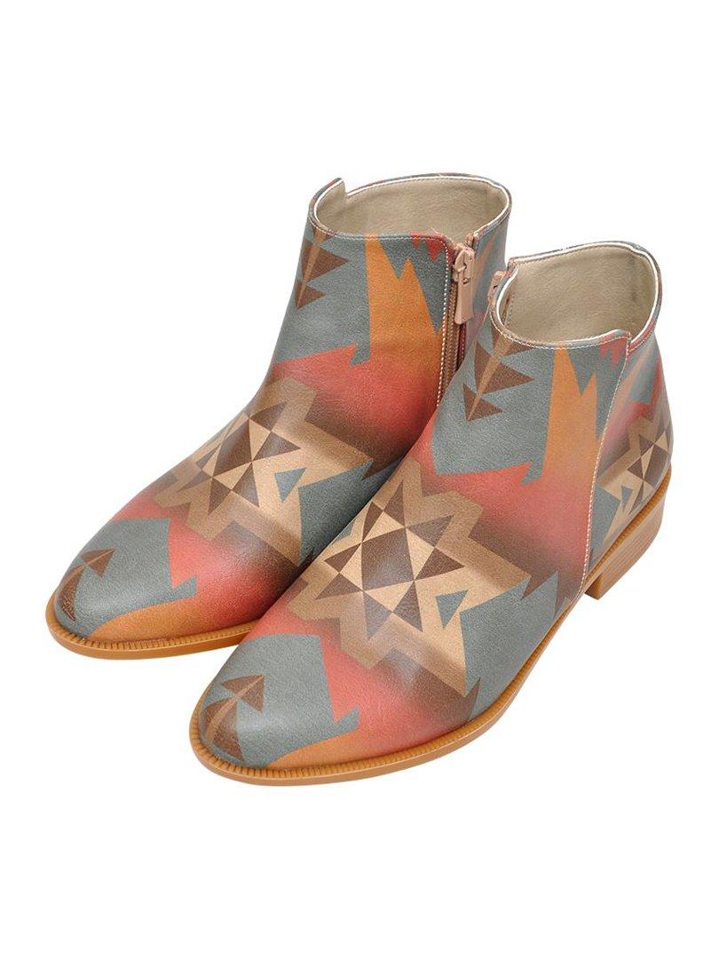 Ботинки в узор   3081133