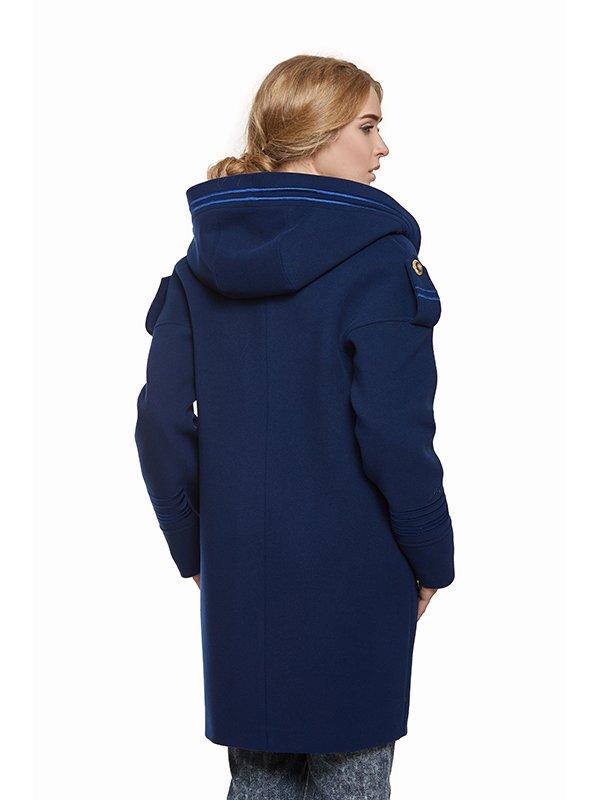 Пальто синє | 3043329 | фото 7