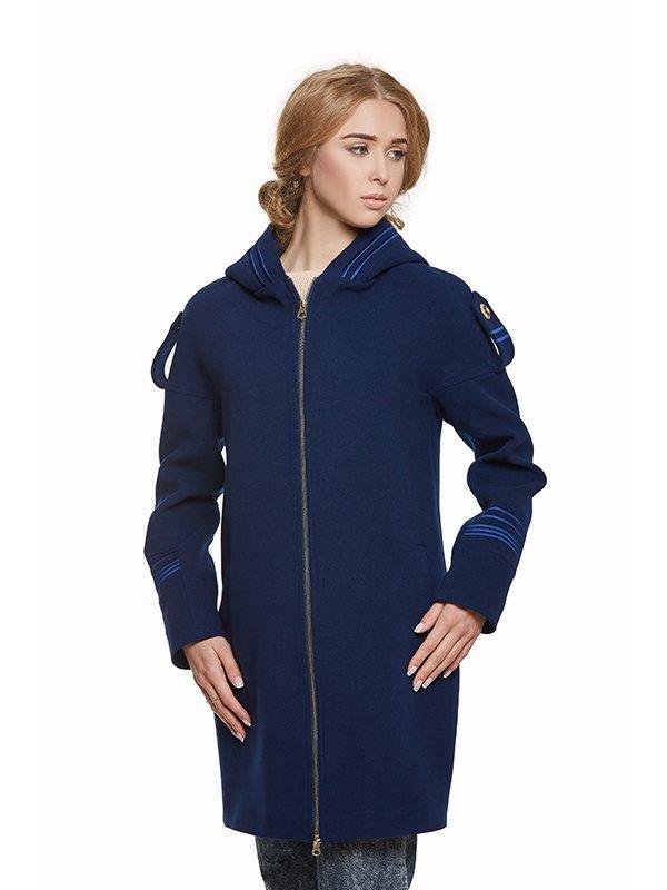 Пальто синє | 3043329 | фото 5