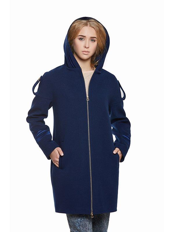 Пальто синє | 3043329 | фото 6