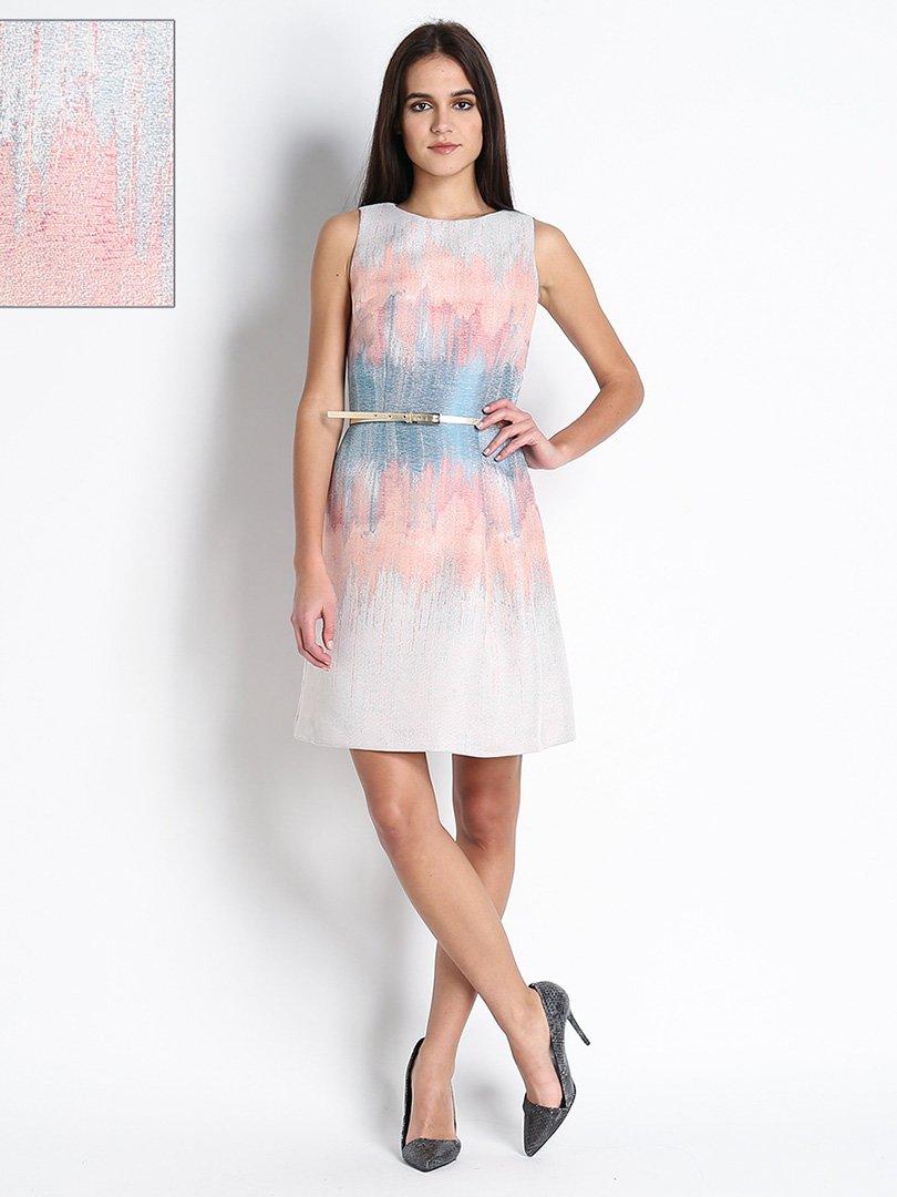Платье в принт | 3096265