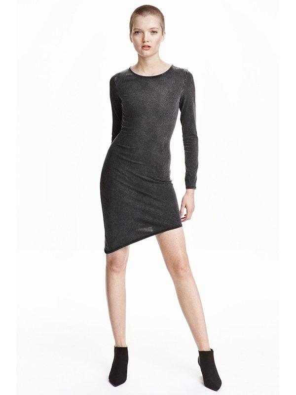Сукня темно-сіра | 3070158