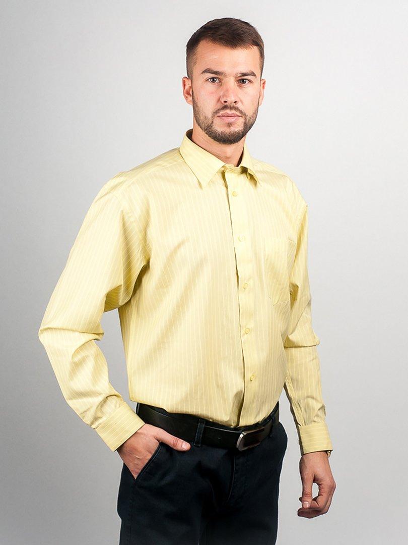 Рубашка салатовая в полоску | 3108472