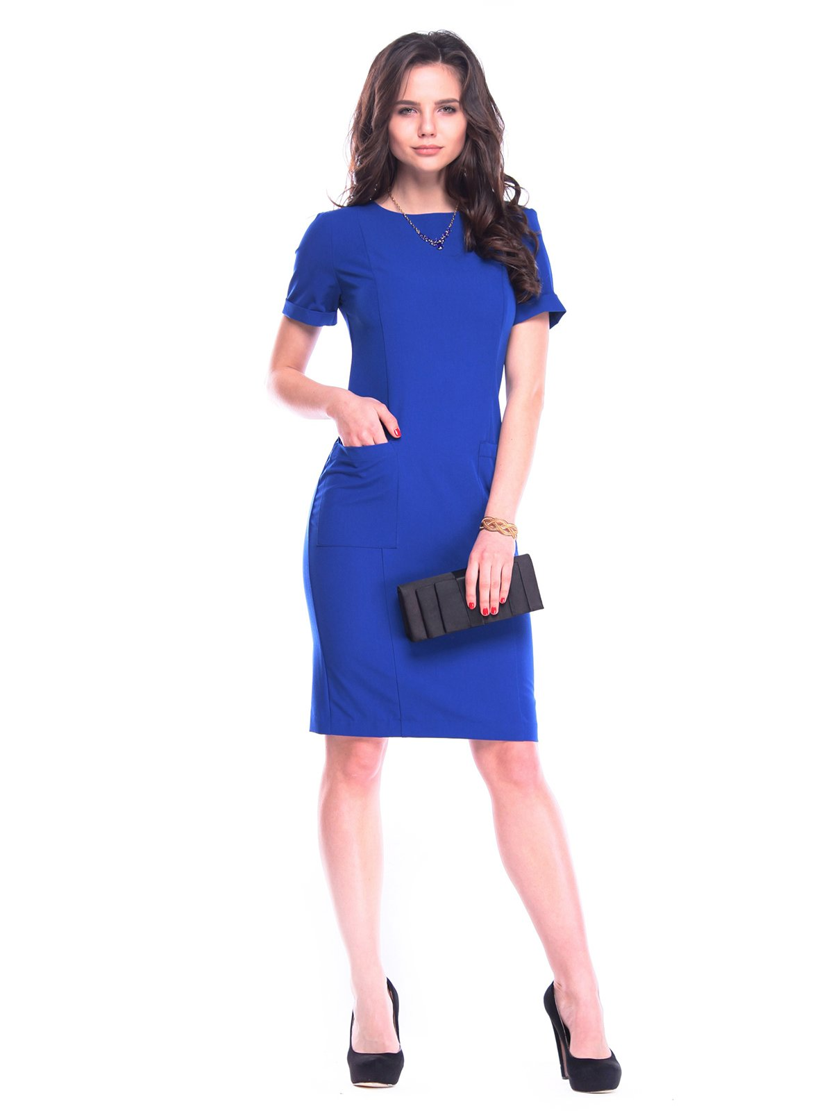 Платье цвета электрик | 3106345