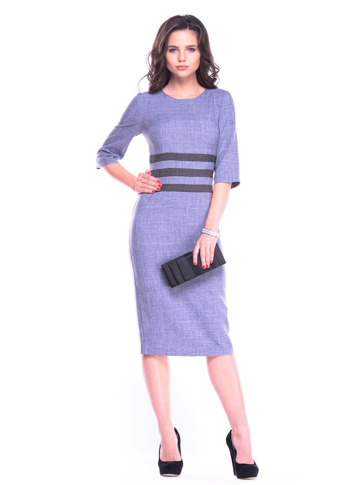 Сукня кольору фіолетового серпанку з графітом   3106364