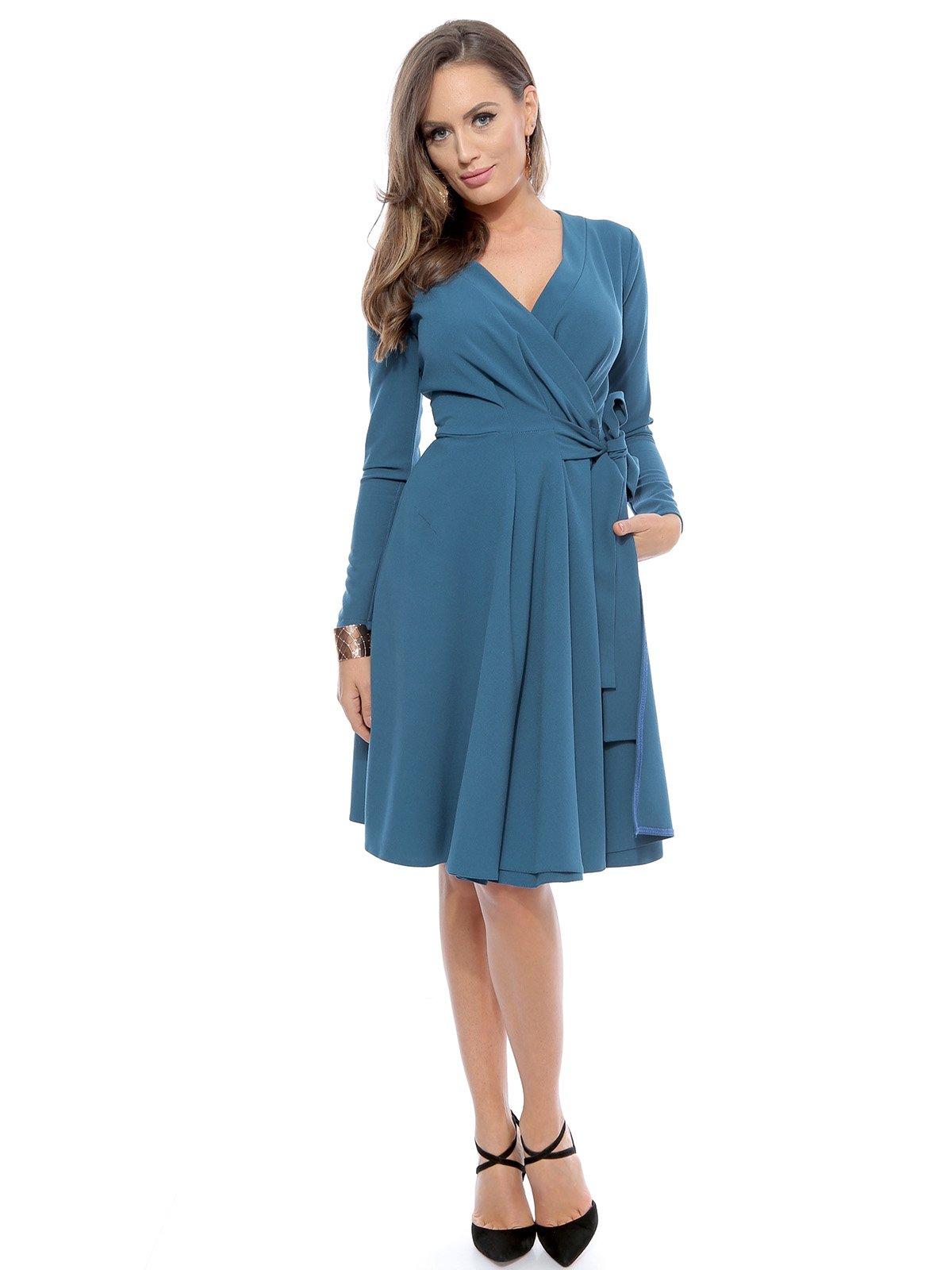 Платье голубое | 3111250