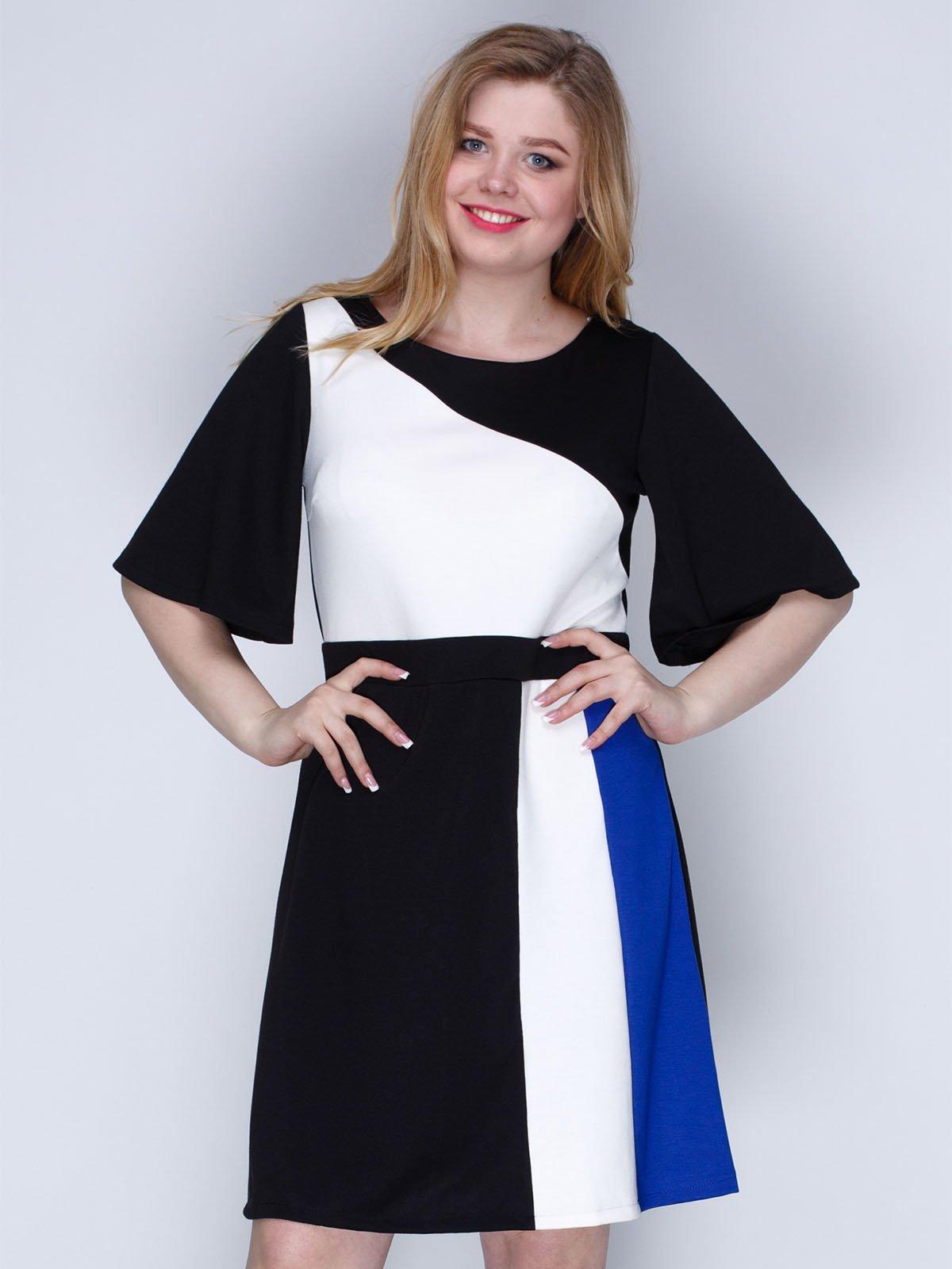 Сукня триколірна | 2820279