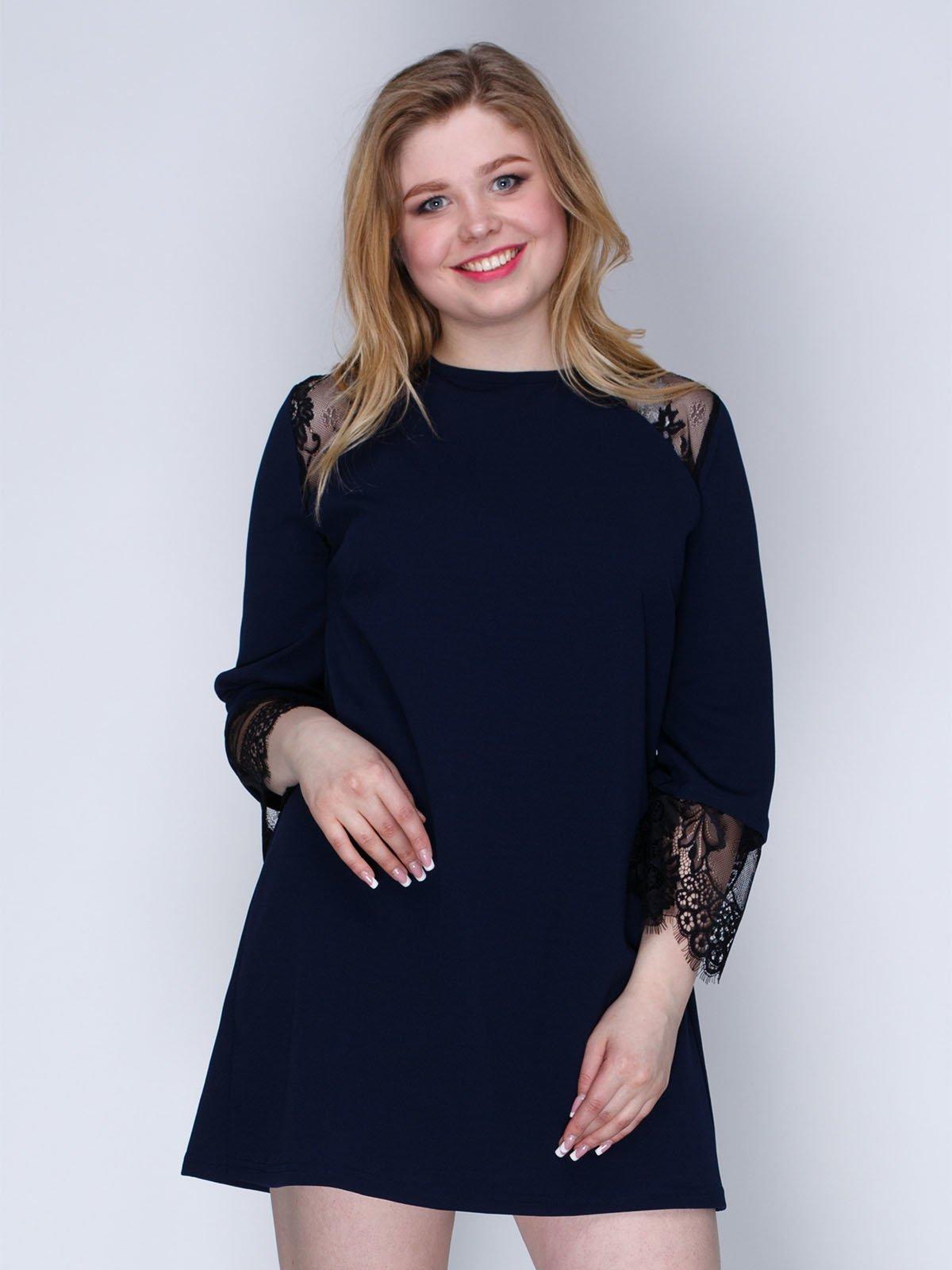 Сукня темно-синя | 3086344