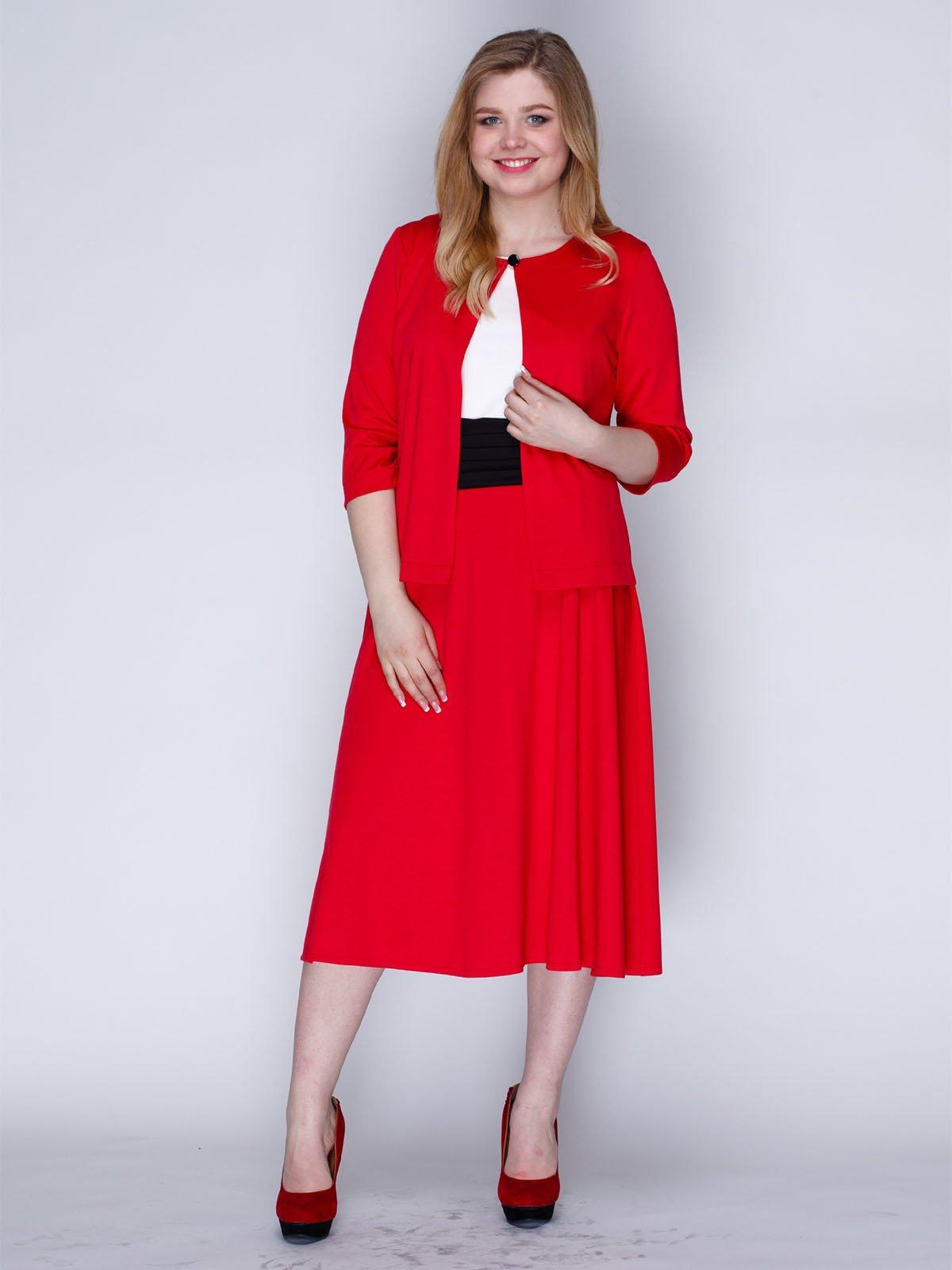 Комплект: сукня і жакет | 2820288