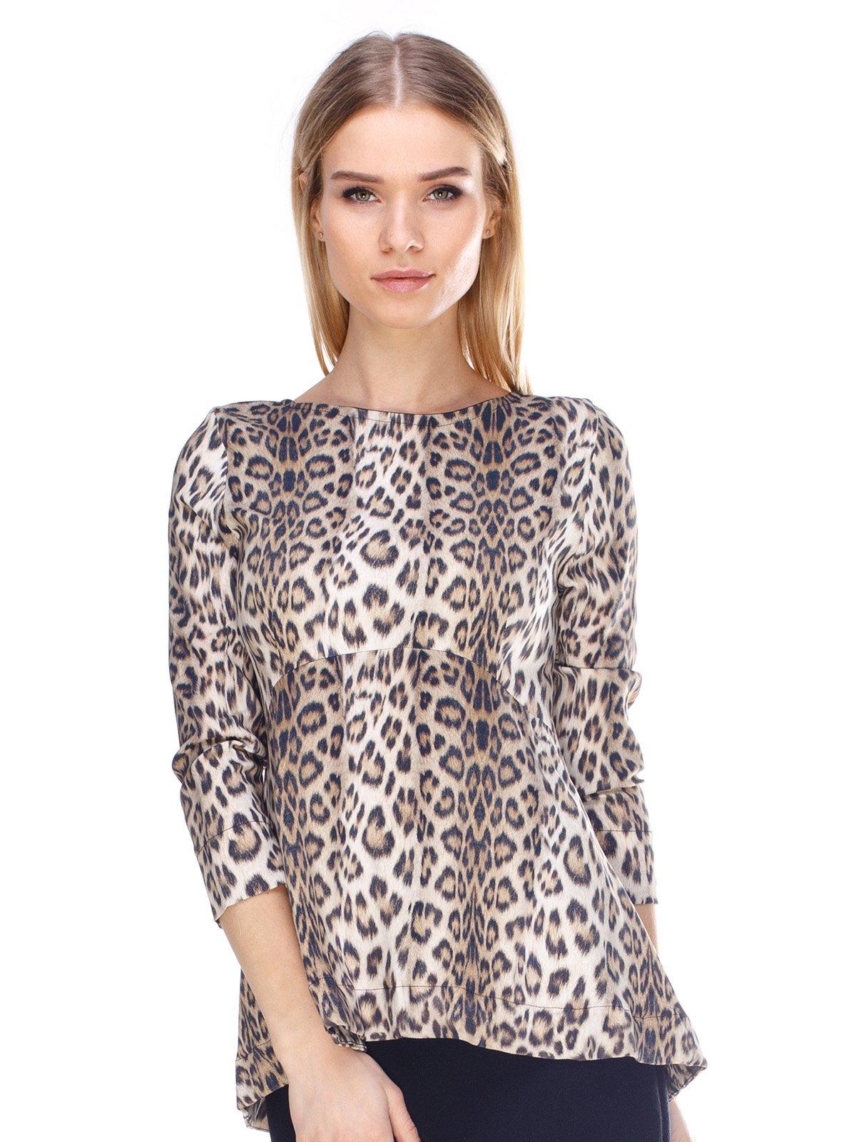Блуза анімалістичного забарвлення | 3075498