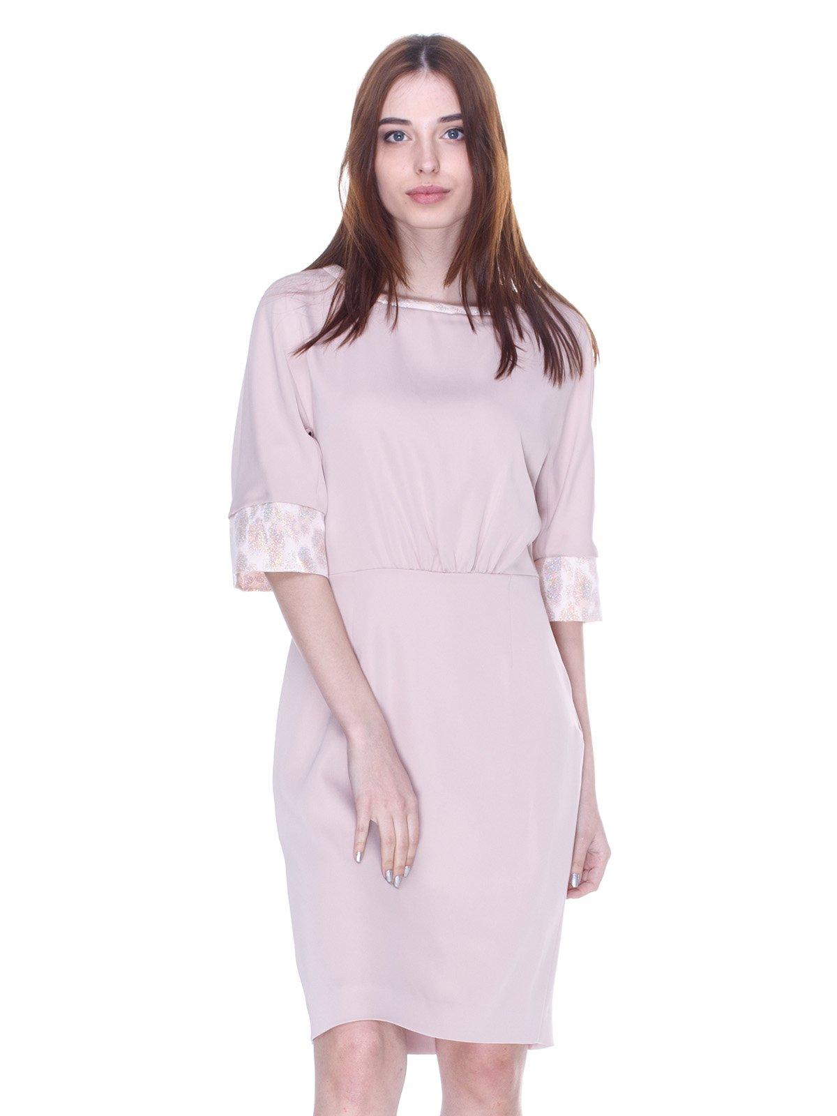 Платье бежевое | 3075507