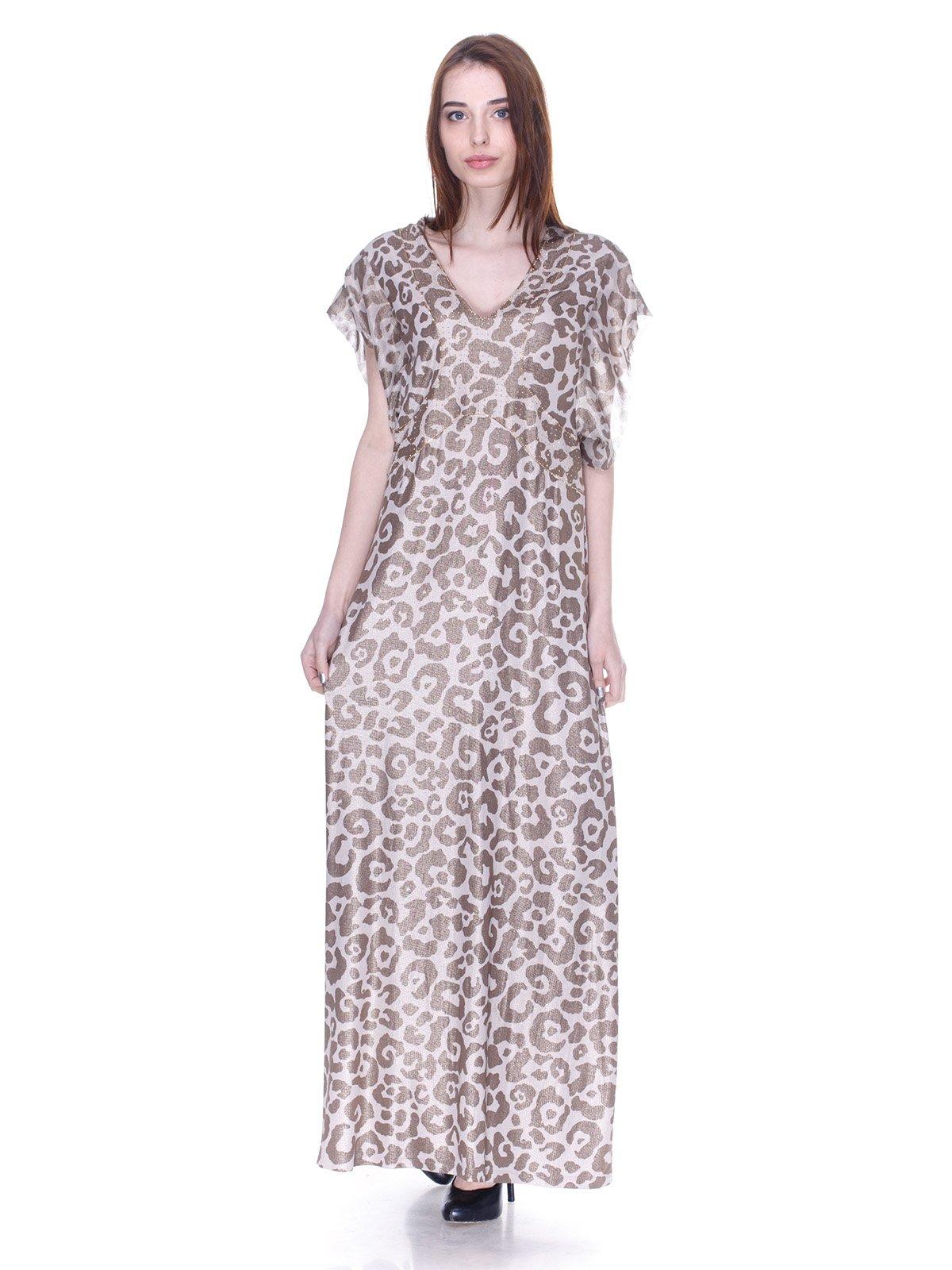 Платье анималистической расцветки | 3075513