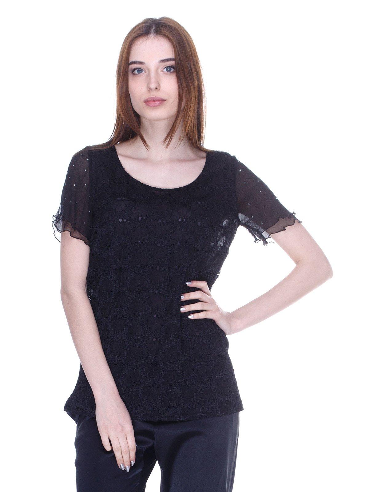 Блуза чорна | 3062502