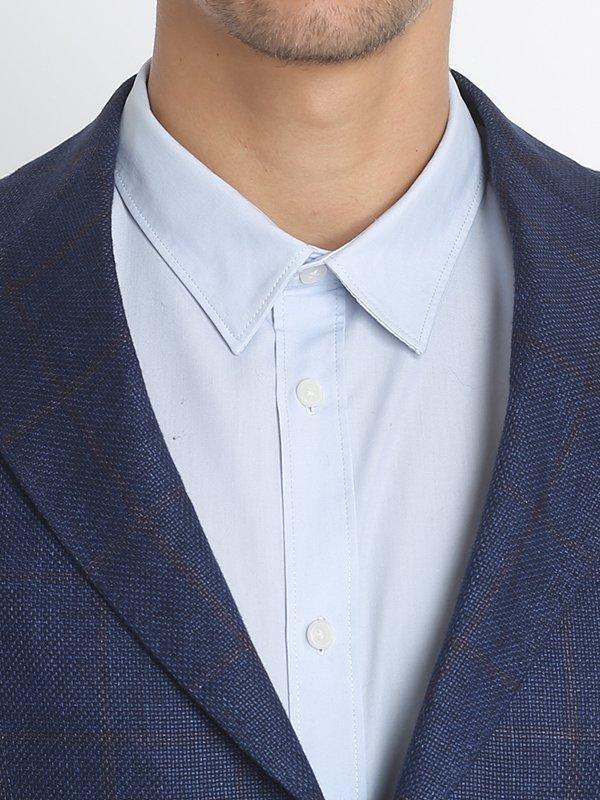 Пиджак синий | 3131342 | фото 4