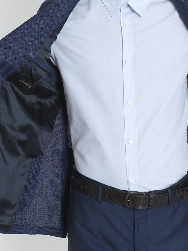 Пиджак синий | 3131342 | фото 7