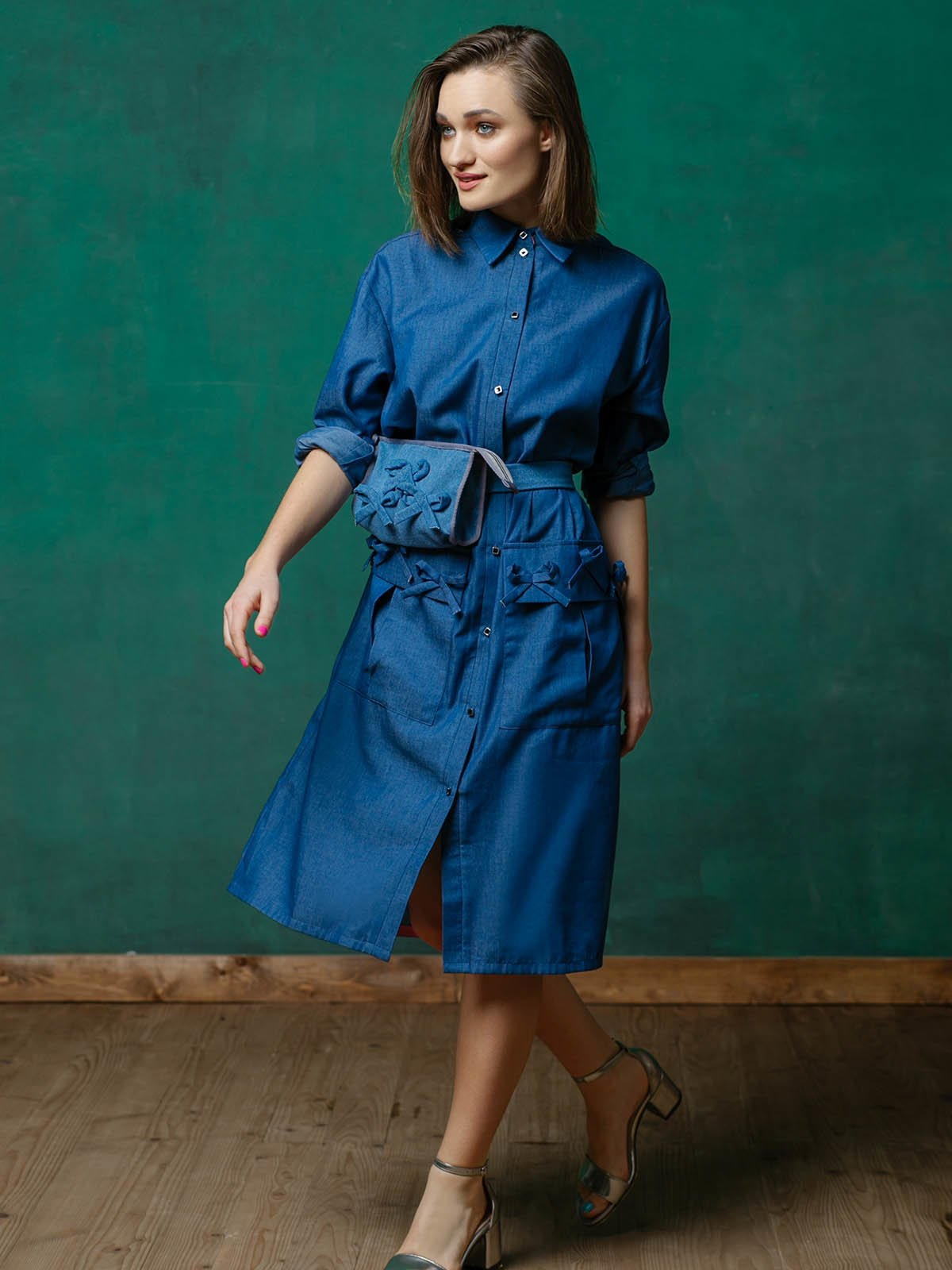 Сукня синя | 3132900