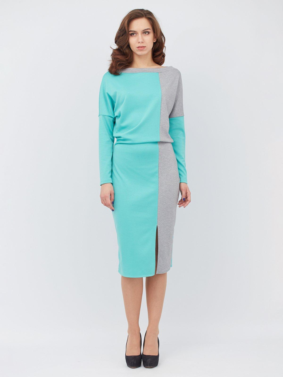 Платье двухцветное | 3137460