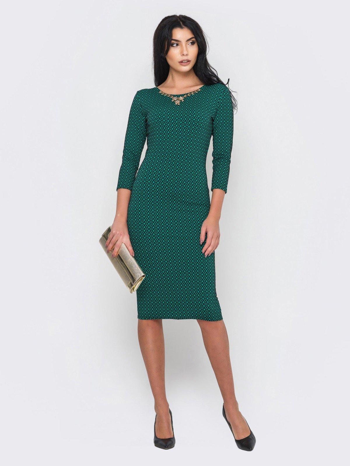 Платье зеленое   2973704