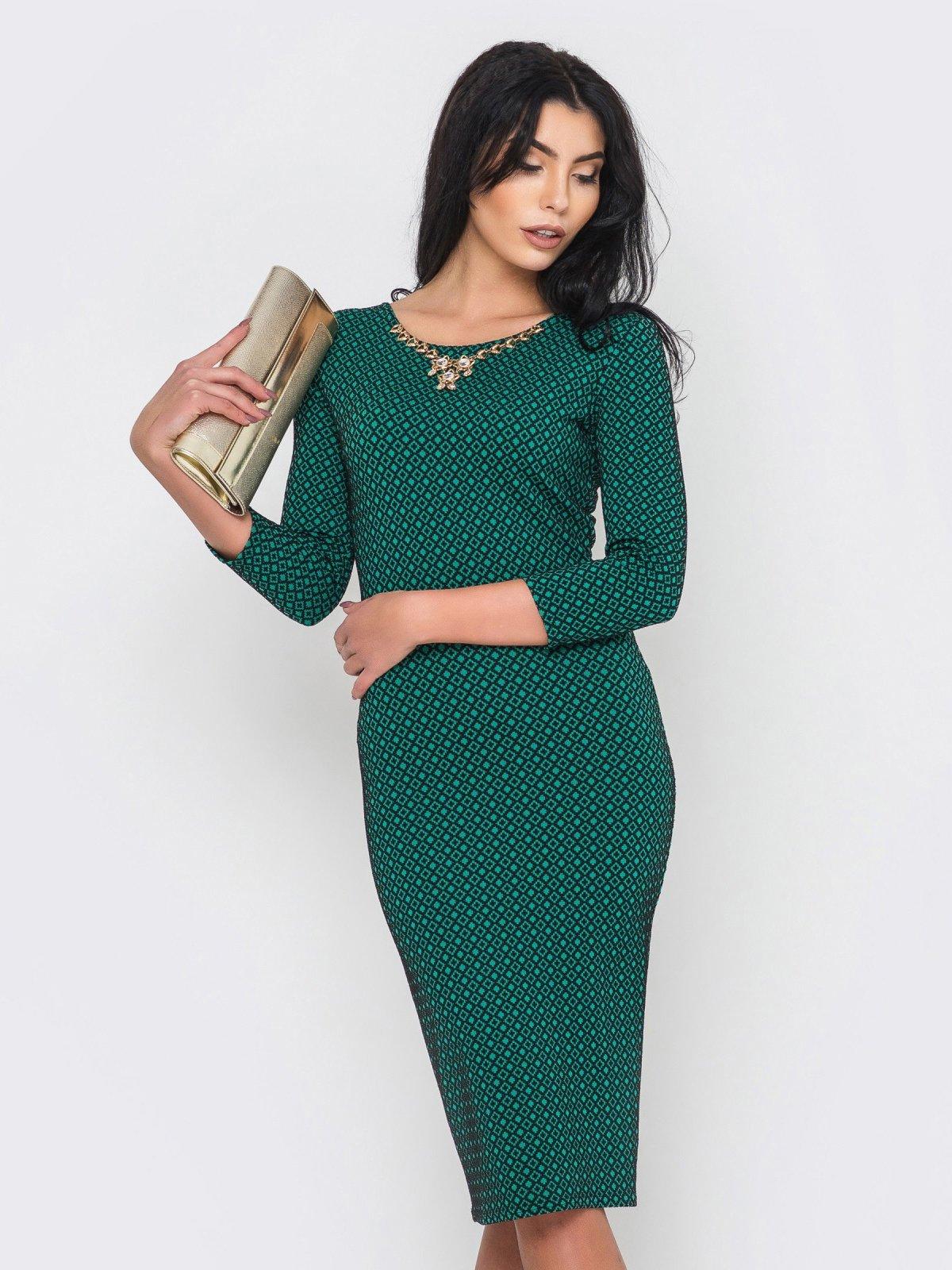 Платье зеленое   2973704   фото 2