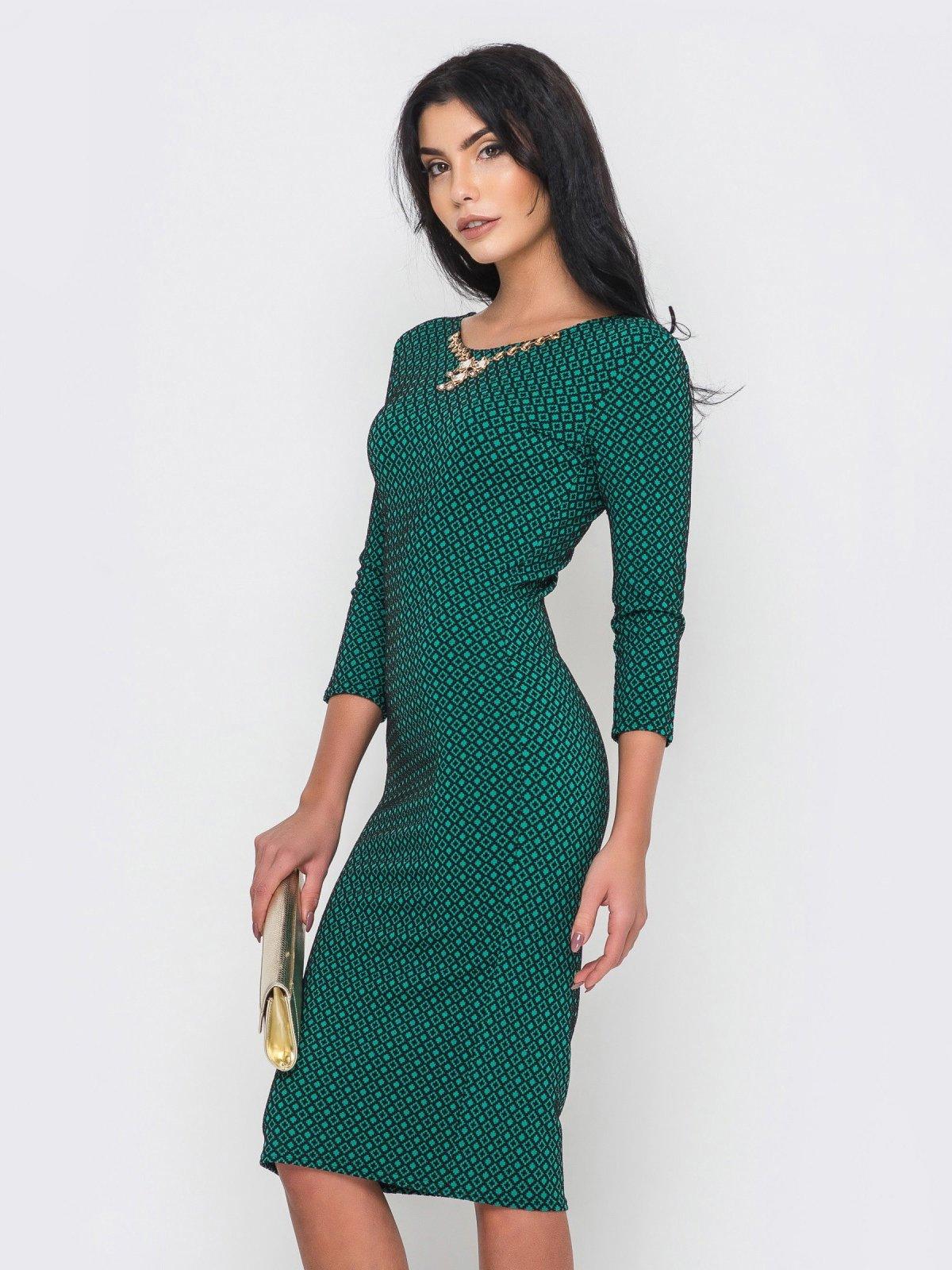 Платье зеленое   2973704   фото 3