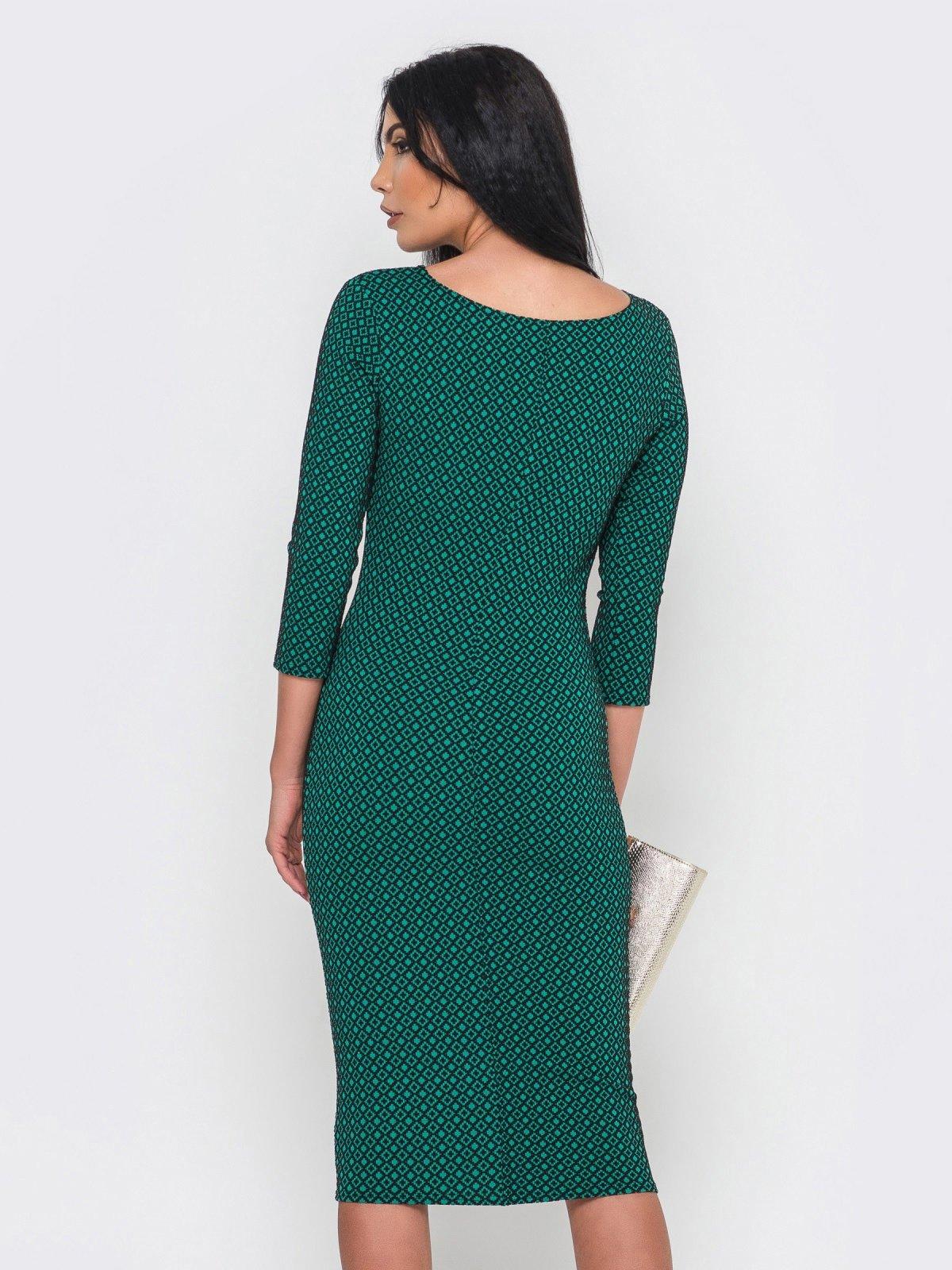 Платье зеленое   2973704   фото 4
