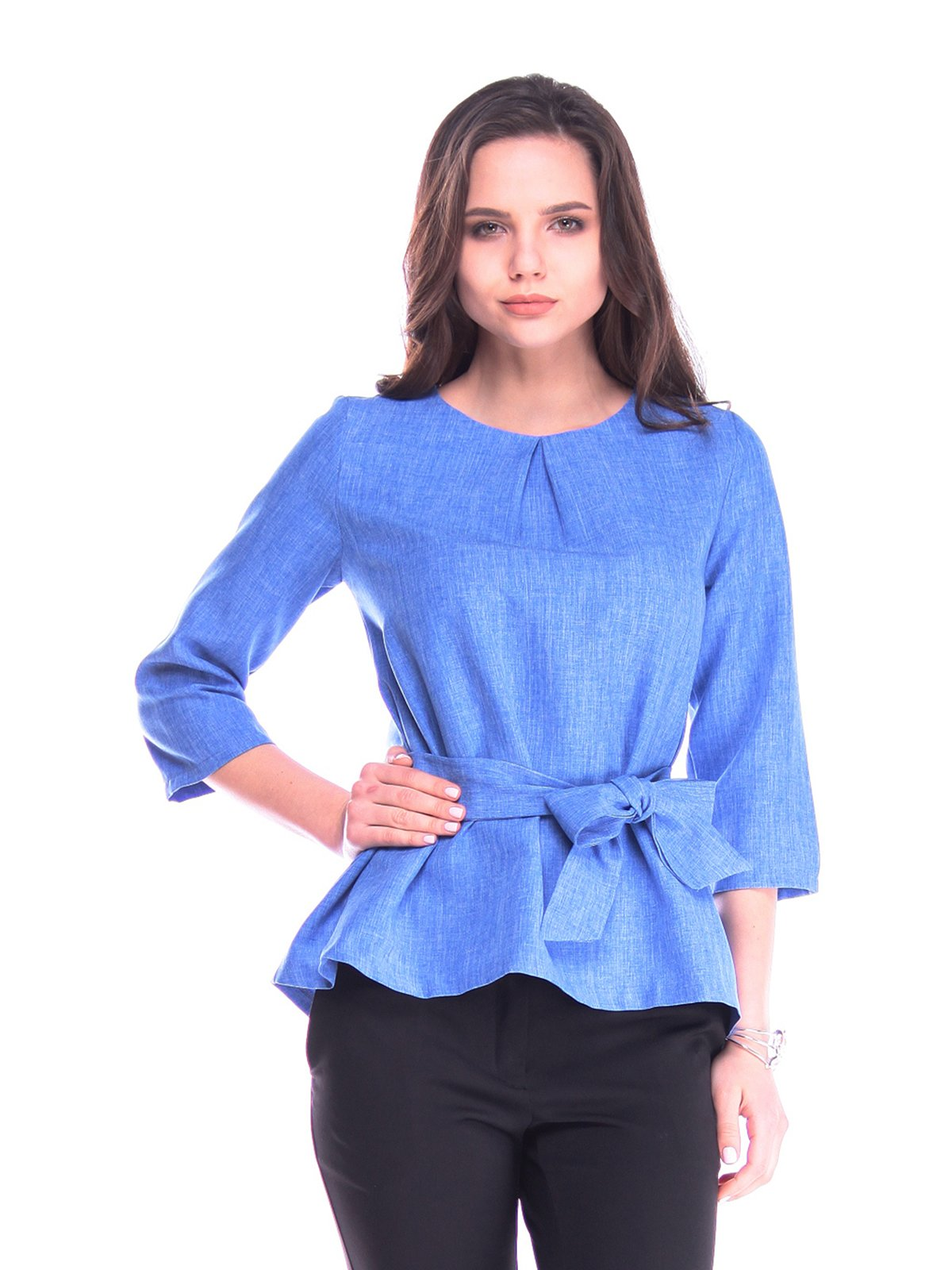 Блуза кольору електрик   3148193