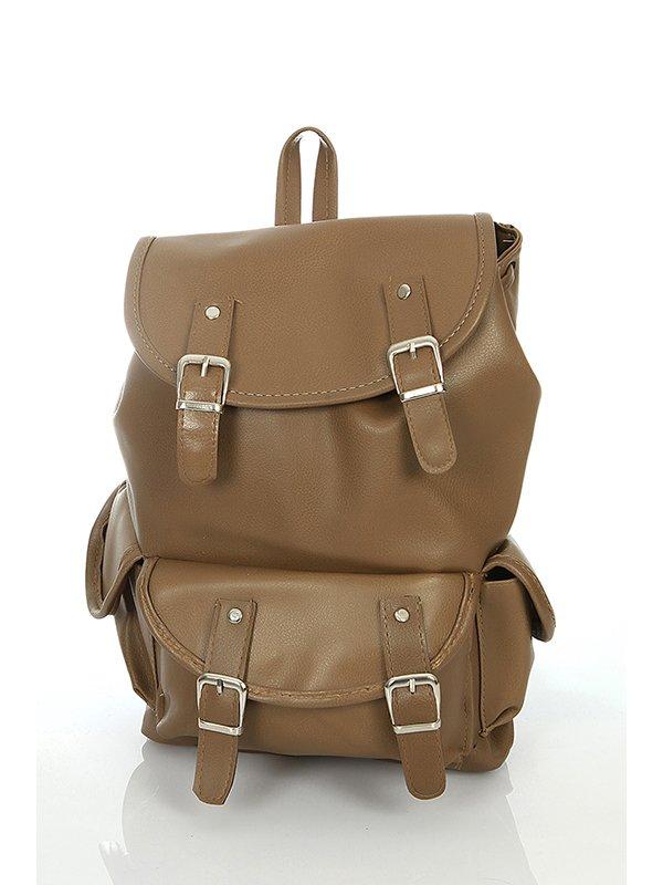 Рюкзак коричневый | 3140445 | фото 2