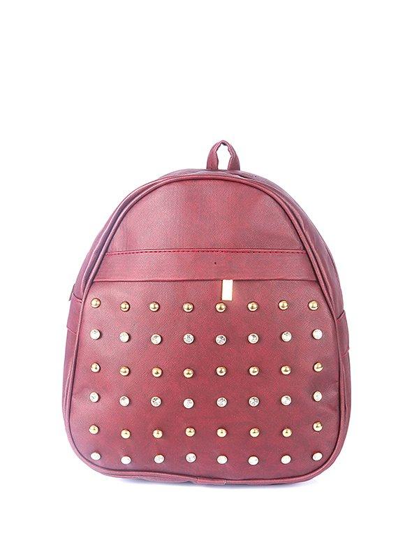 Рюкзак бордовый | 3140470