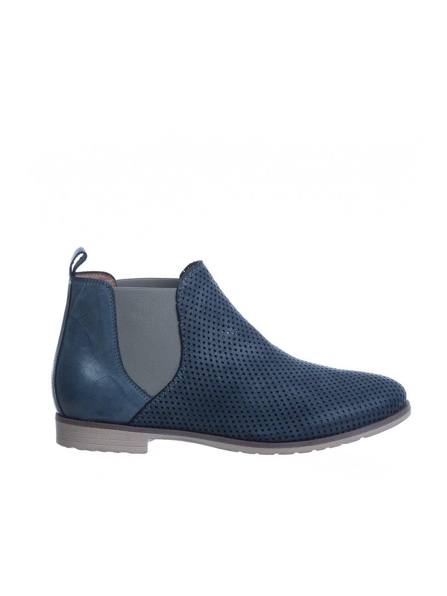 Ботинки синие | 3160175