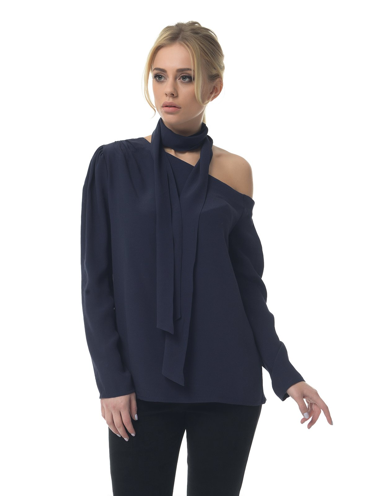 Блуза синяя | 3159993