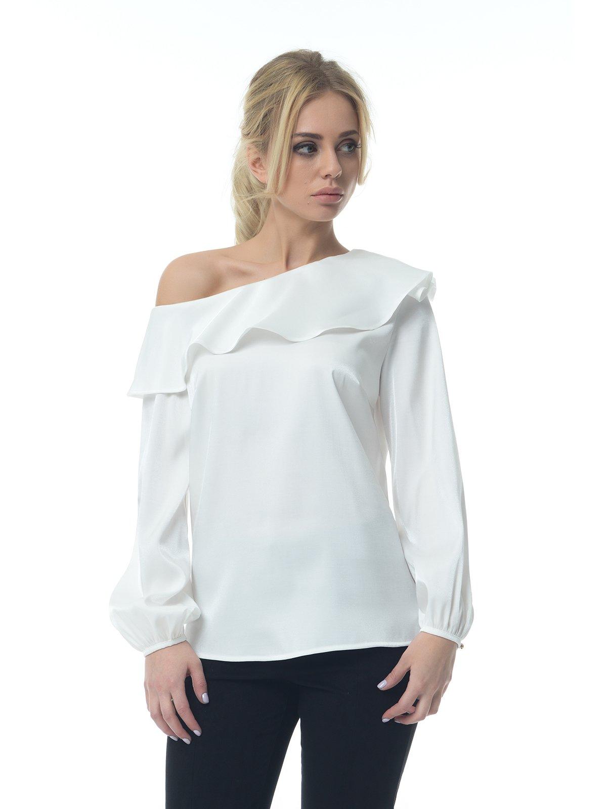 Блуза молочного цвета   3159995
