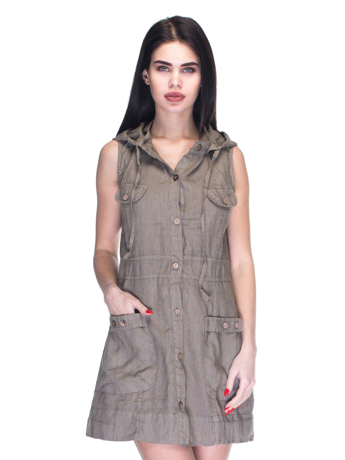 Платье коричневое   3131030