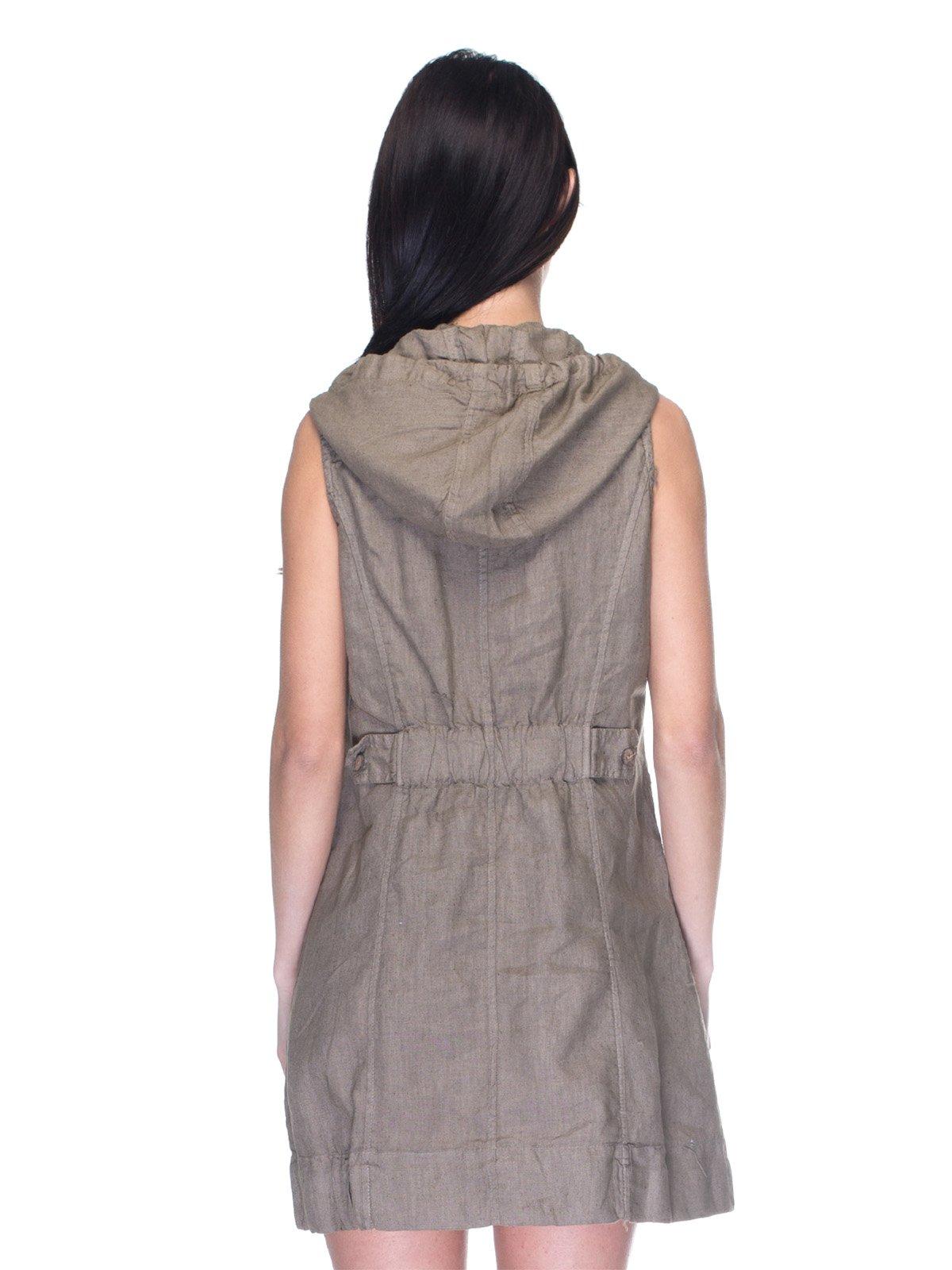 Платье коричневое   3131030   фото 2