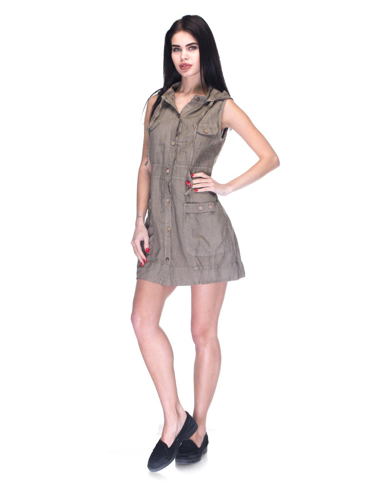 Платье коричневое   3131030   фото 4