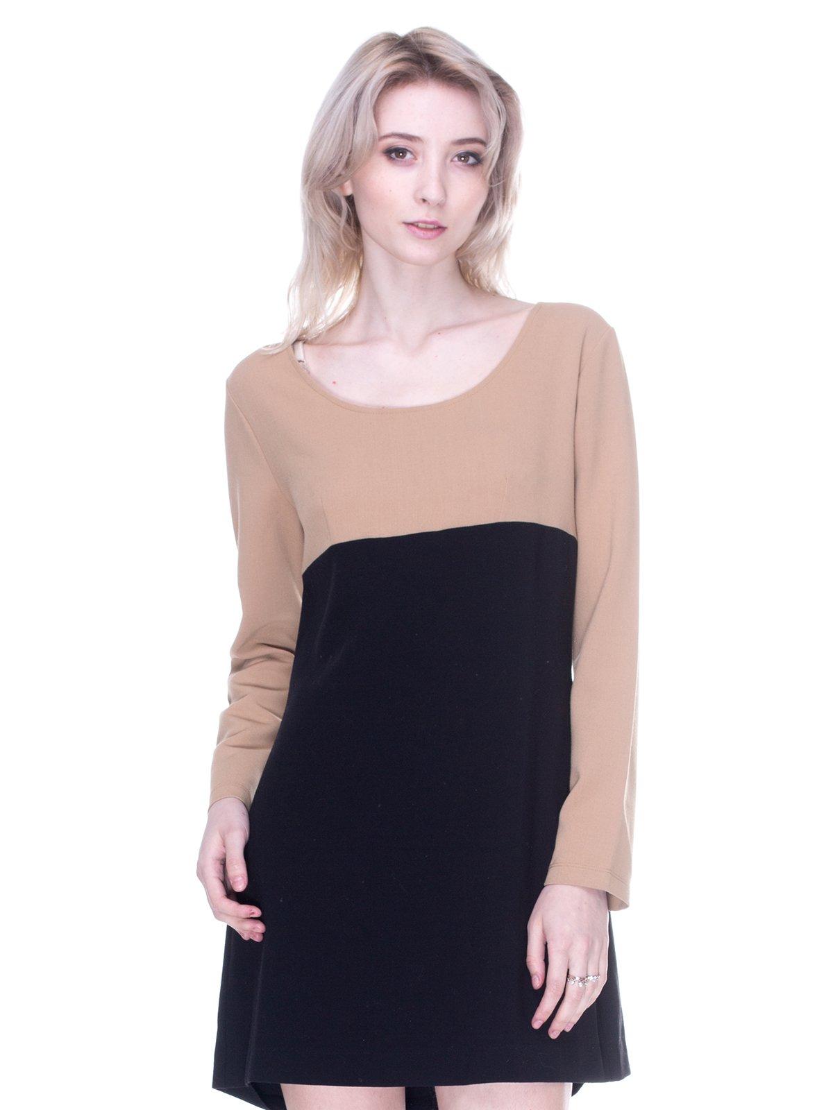 Платье двухцветное | 3121473