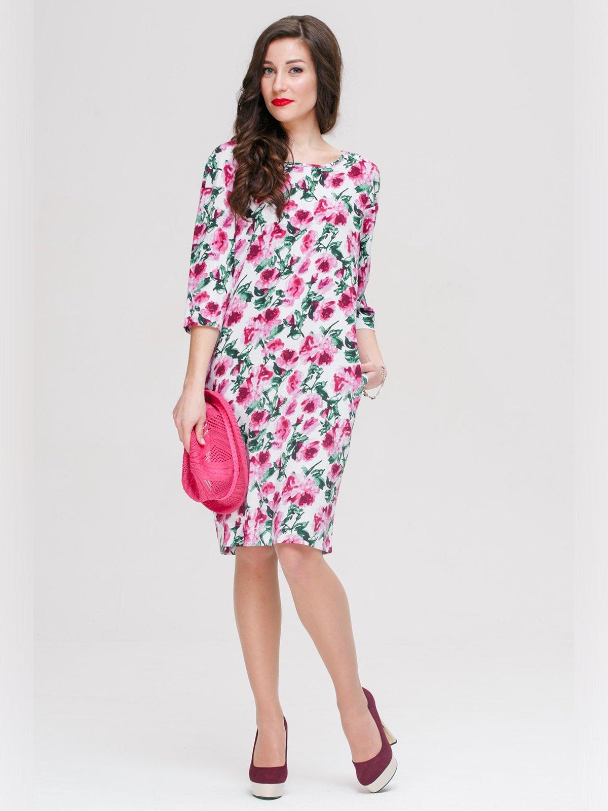Платье в цветочный принт   3171815