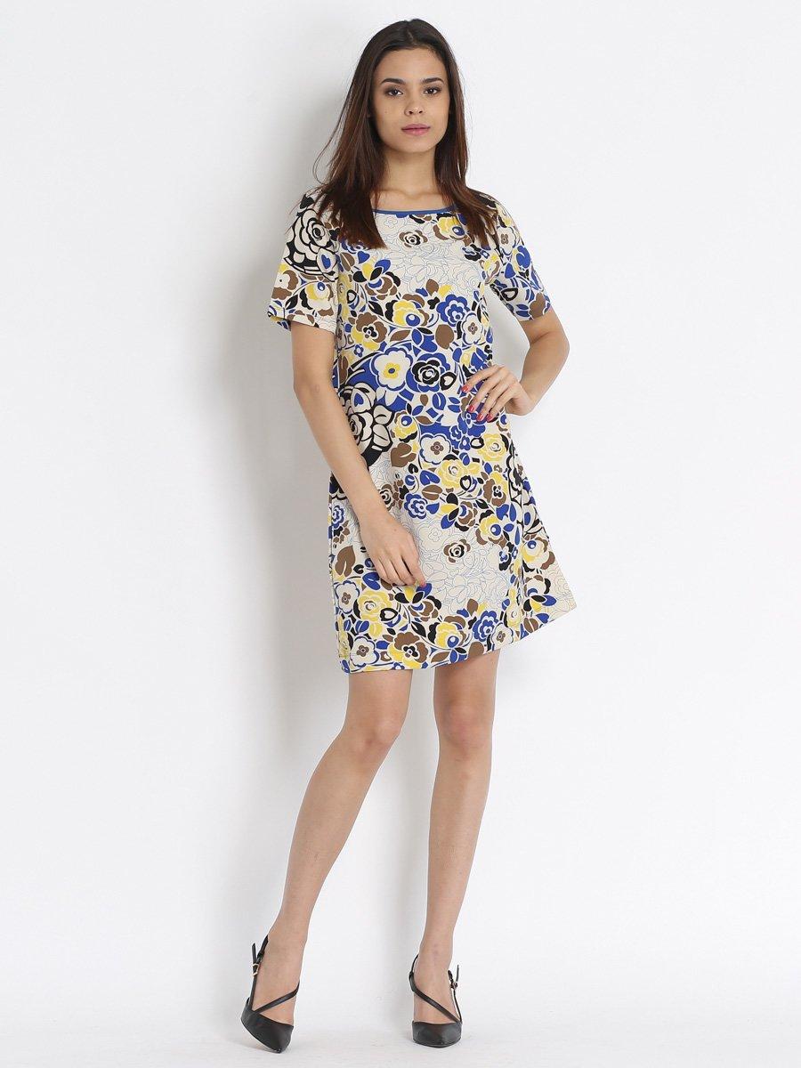 Платье с цветочным принтом | 3177932