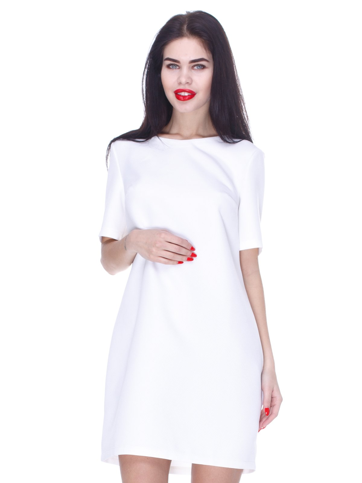 Сукня кольору молоко | 3155134